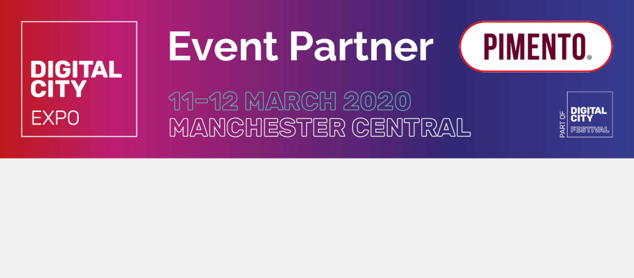 Official Event Partners for Marketing Show North